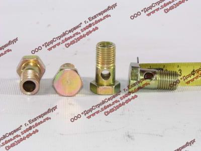Болт пустотелый М14х1,5 (штуцер топливный) H HOWO (ХОВО) 90003962612 фото 1 Прокопьевск