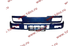 Бампер C синий верхний+нижний (в сборе) фото Прокопьевск