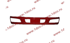 Бампер F красный пластиковый для самосвалов фото Прокопьевск