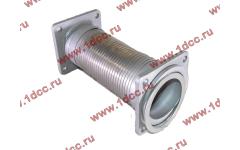 Гофра-труба выхлопная с квадратными фланцами FN для самосвалов фото Прокопьевск